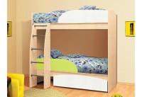 Кровать-чердак «Омега-4-лайм»