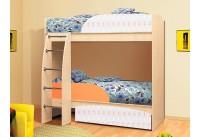 Кровать-чердак «Омега-4-шафран»