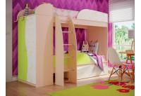 Кровать-чердак «Омега-4-А-лайм»
