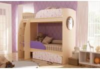Кровать-чердак «Омега-4-фиолет»